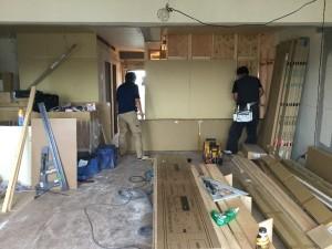 【千葉県松戸市エリア S様邸 リノベーションレポート③】間仕切り壁に使われる石膏ボードについて解説します!