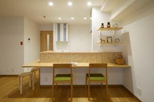 【東京都 墨田区・中央区エリア M様邸 リノベーションレポート④】部屋に川を取り入れる。リノベならではの工夫が詰まった部屋。