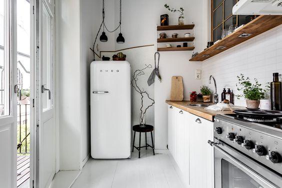 塩系キッチン