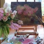 絵画を飾るコーナー~ピクチャーレールでお家にアートを取り入れる~