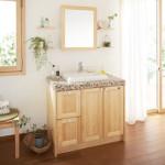 パウダールーム・洗面室の「機能美」~洗面化粧台のご提案~