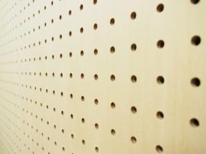 見せる収納の新定番、『パンチングボード』を120%活用する!