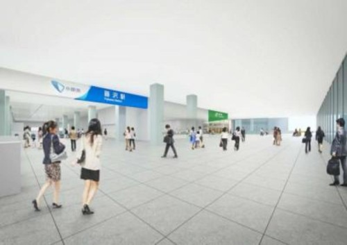藤沢駅南北自由通路整備