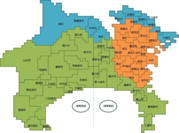 神奈川県地図-min