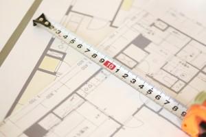 壁芯面積と内法面積~物件情報の「専有面積」はどっち?