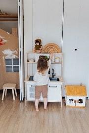 子供の遊べる空間