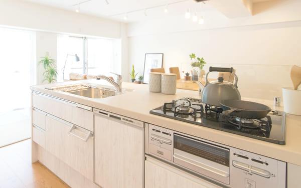 標準的な間口(幅)のキッチン