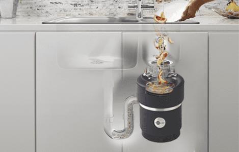 ディスポーザー。キッチンの生ゴミを処理する。