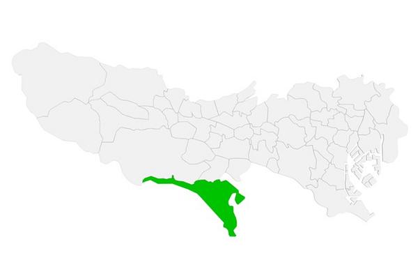 町田市の地理