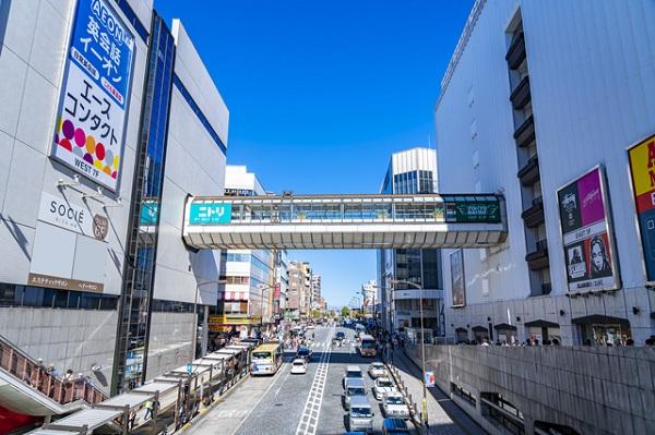 町田駅周辺の画像