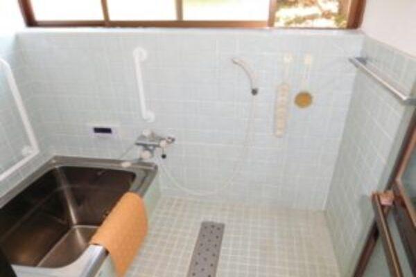 ▲古いお風呂は水漏れが心配