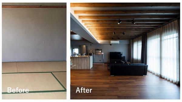 和室の畳をフローリングにした場合のリノベーション事例