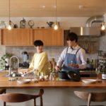 ひかリノベオリジナル コの字型造作キッチン「Halo」施主様インタビュー