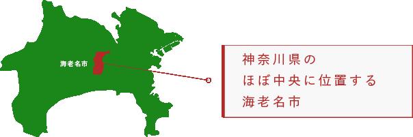海老名市の地理イメージ