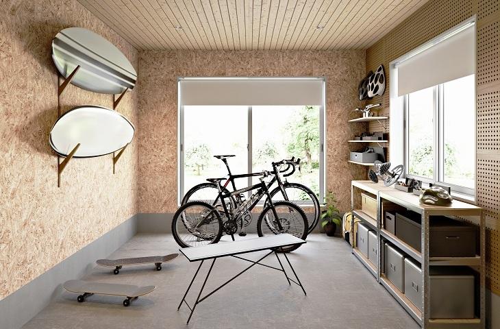 ロードバイクガレージ