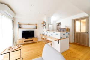 ◆自然素材でナチュラルに。オトナかわいいブルーの家。◆