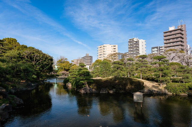 東京都墨田区 春の隅田公園