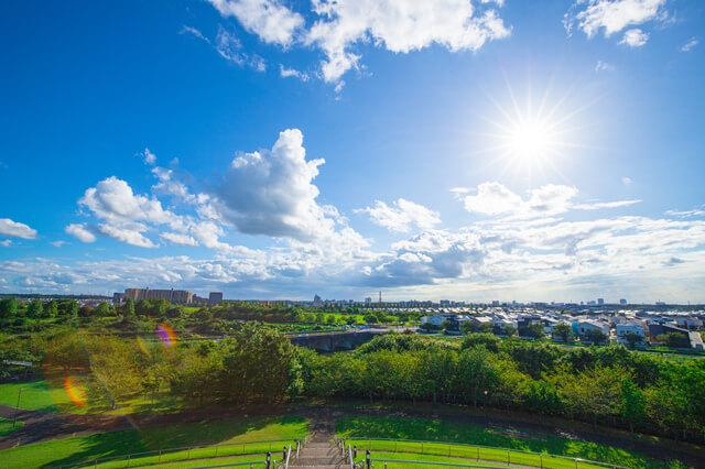 千葉県印西市の街風景