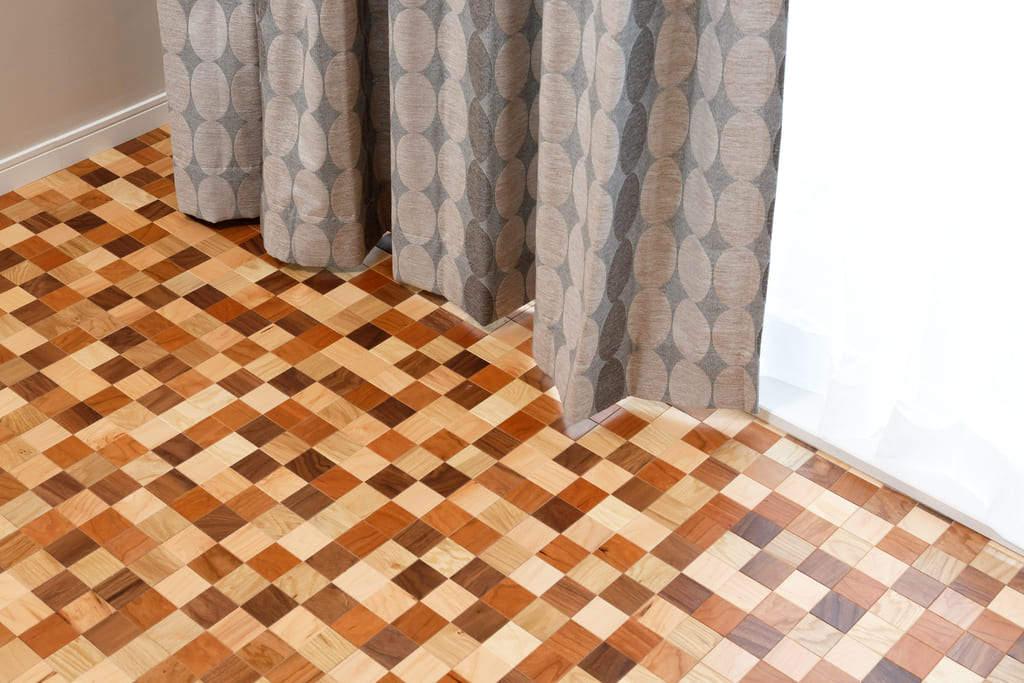 寄木の床(パーケットフロア)