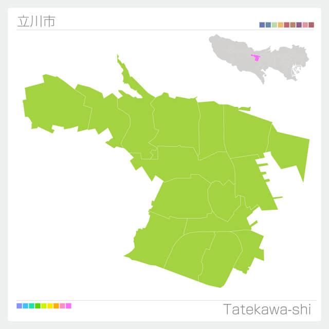 立川市の地理