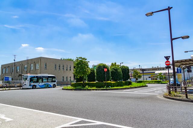 上北台駅前広場とちょこバス