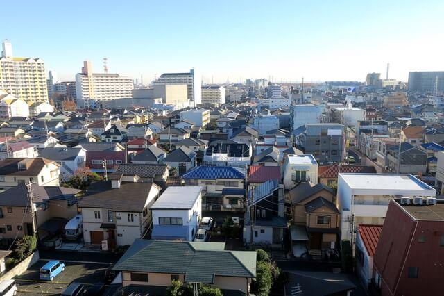 東大和市の住宅街
