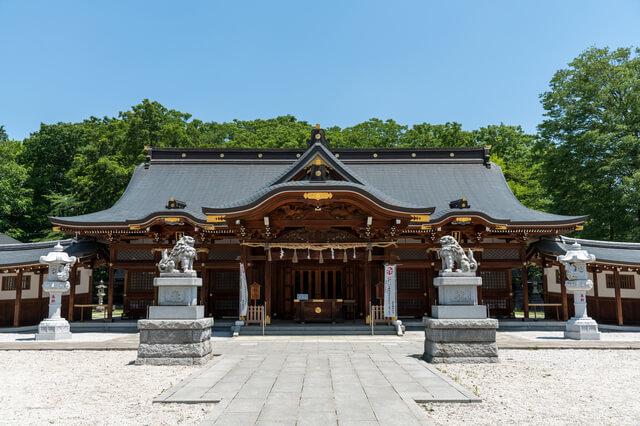 立川鎮座 諏訪神社