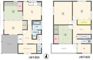 平塚市平塚2丁目 中古一戸建 2,480万円