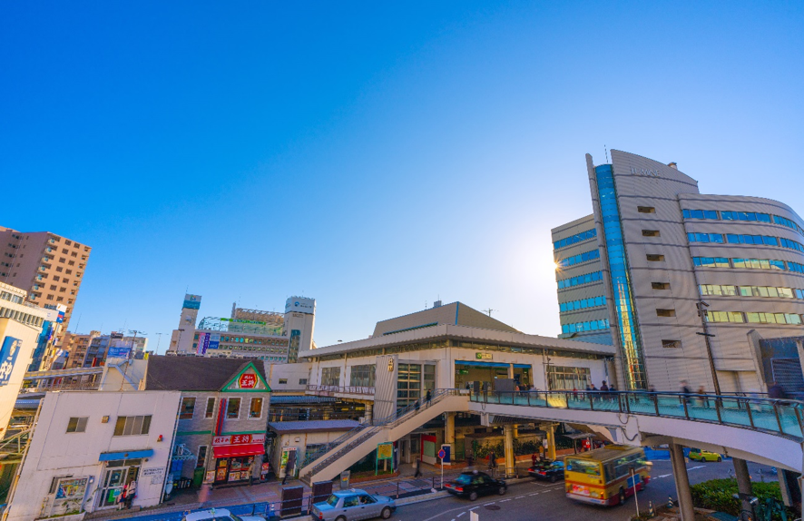 藤沢市の街並み