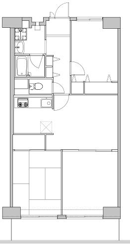 西葛西スカイハイツ 211号室