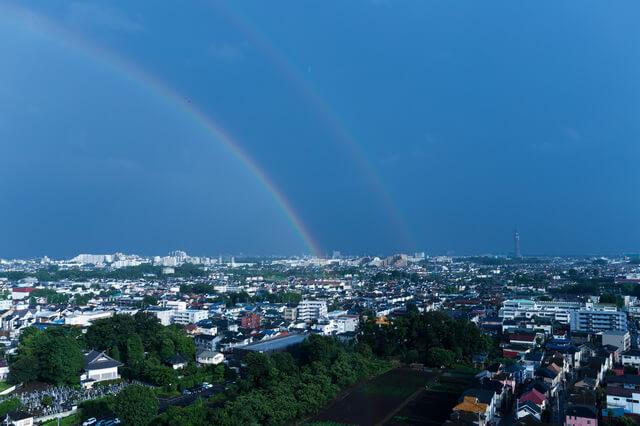 東久留米市 風景