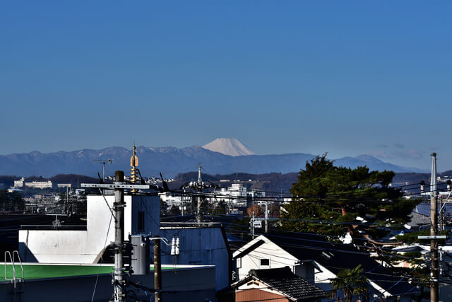 狛江市の街並み