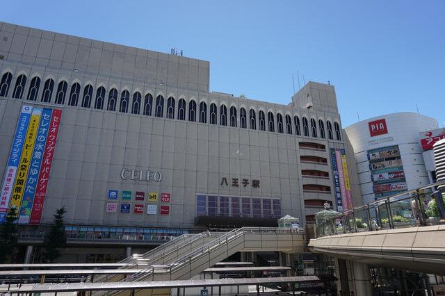 八王子駅前の雰囲気