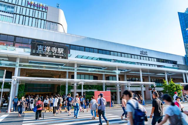 【東京都】吉祥寺駅 駅前風景