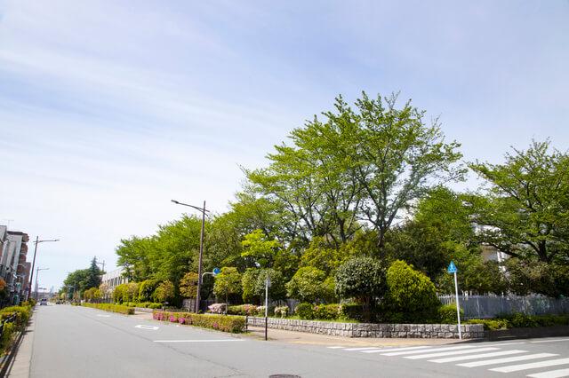 小平市周辺の風景