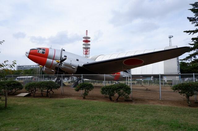 所沢航空記念公園 飛行機の展示
