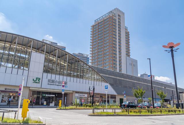 駅前風景 武蔵小金井駅