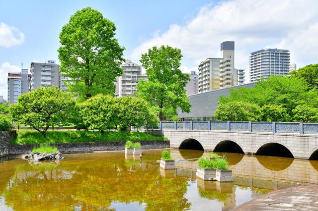 武蔵国分寺公園からの風景