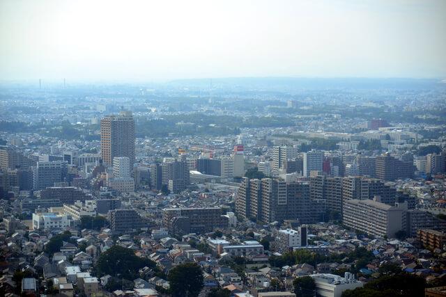 東京都 小金井市 街並み