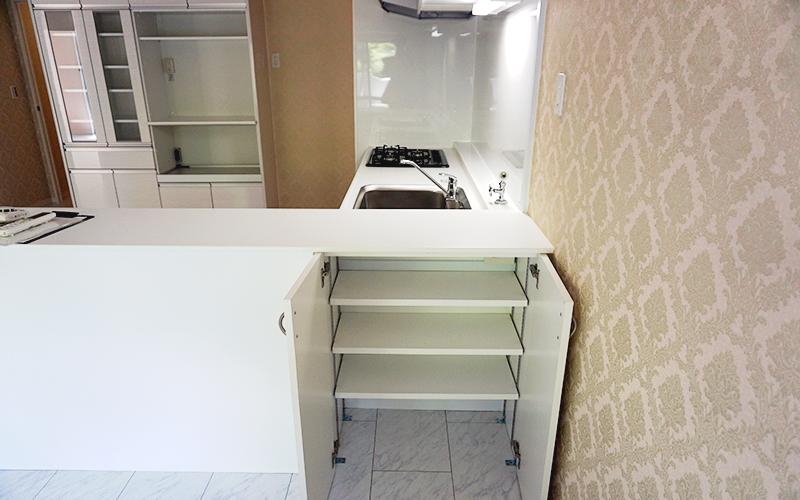 オーダーメイドの家具で、暮らしに合わせたキッチンを実現